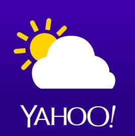 Yahoo Погода на Андроид